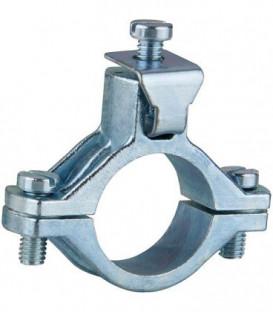 """Collier de mise a la terre zinc moule sous pression. 3/4"""" (24-28mm) UNITE"""