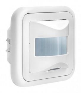 Détecteur de mouvement LBU 16934 160°, blanc avec éclairage, encastré