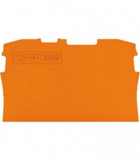 Plaque de separation 0,8 mm, orange 25 pcs