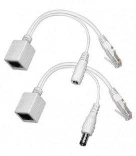 Adapteur courant pour cable réseau
