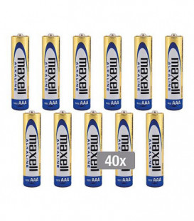 Batterie Maxell LR03 Alcaline Micro emballage 10x4 pieces