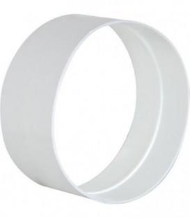 Connection externe DN 100 mm blanc plastique