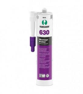 Colle de montage 630 blanc, masse d´étanchéité à base de dispersion acrylique 310ml