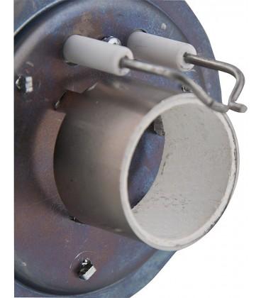 Déflecteur avec électrode céramique