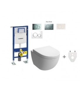 Pack Wc suspendu Geberit Daily'o 2 modèle court