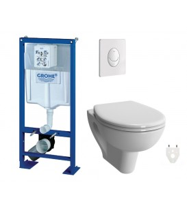 Pack WC suspendu Grohe Verseau sans bride courte