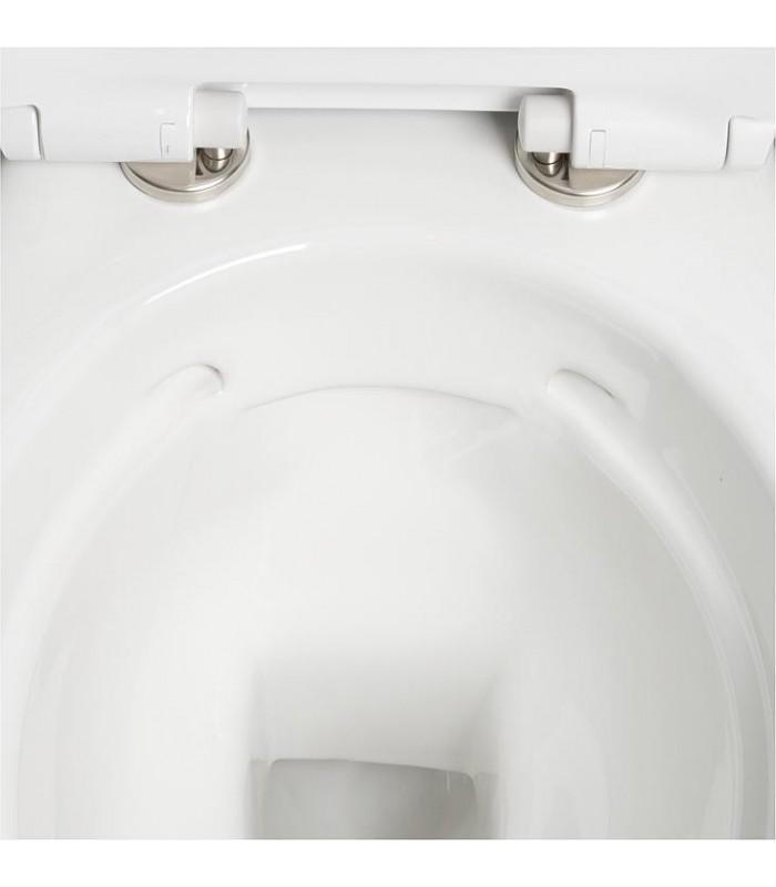 Wc suspendu nido sans bride banyo pour sanitaire - Wc suspendu sans bride ...