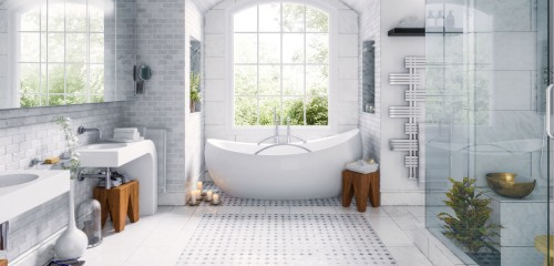 Quel revêtement mural dans la douche ?